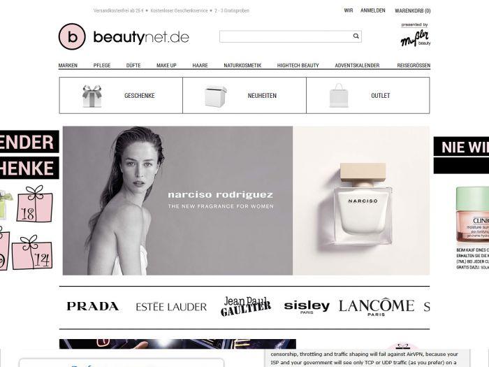 Beautynet.de Onlineshop