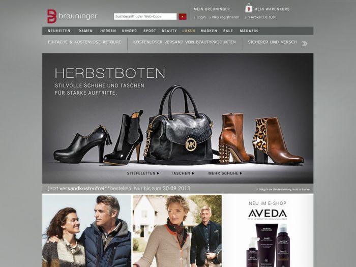 Breuninger.de Onlineshop