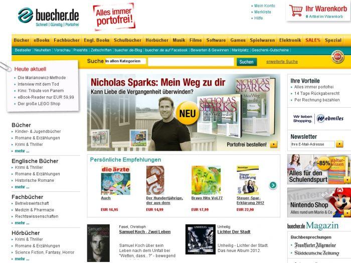Buecher.de Onlineshop