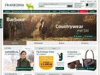 Frankonia.de Onlineshop