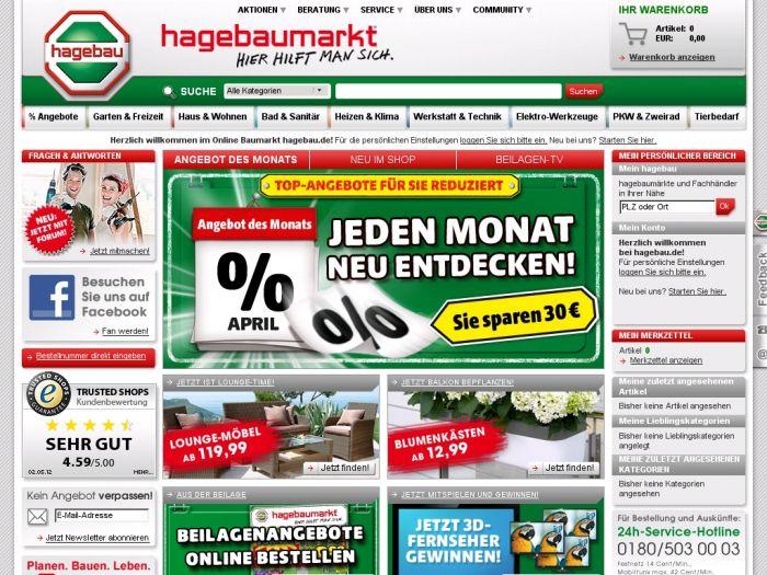Hagebau.de Onlineshop