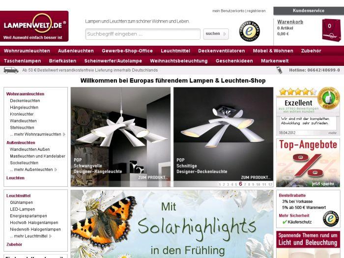 Lampenwelt.de Onlineshop