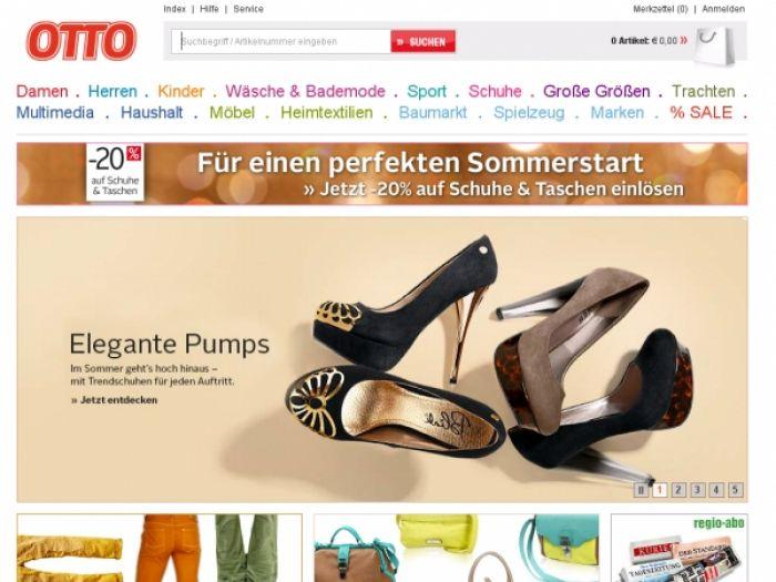 Ottoversand.at Onlineshop