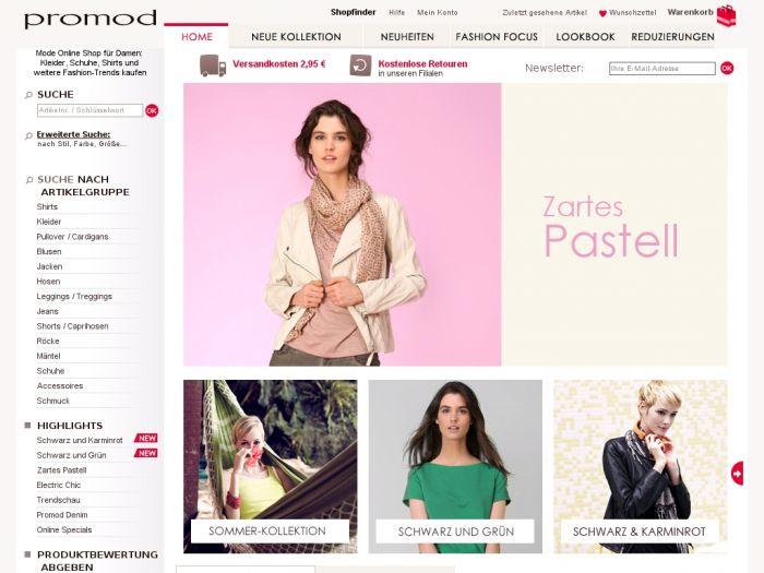 Promod.de Onlineshop
