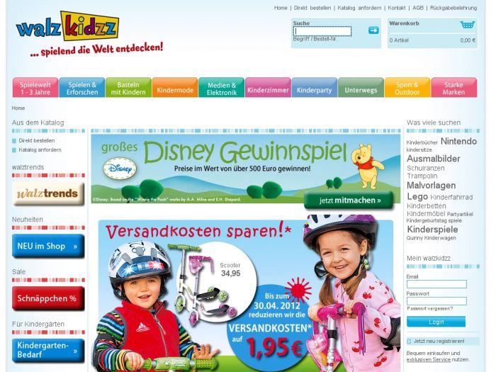 Walzkidzz.de Onlineshop