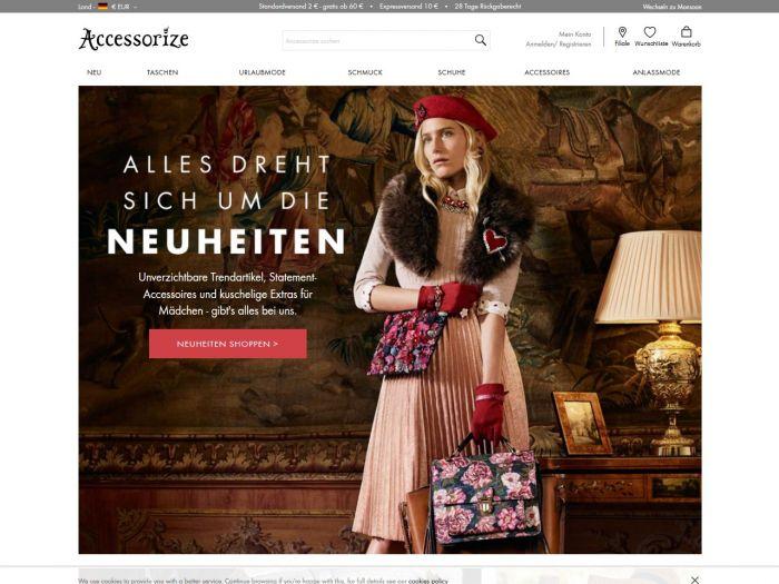 Accessorize.com Onlineshop