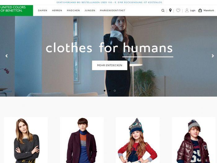 Benetton.com Online Shop