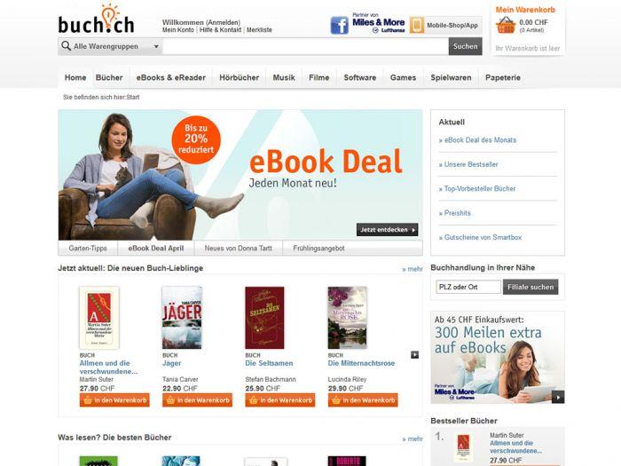 Buch.ch Onlineshop