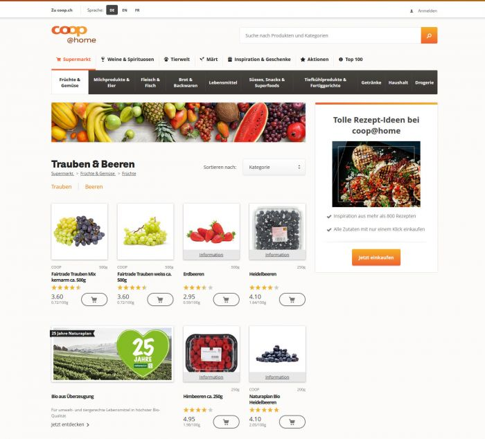 coopathome.ch Onlineshop