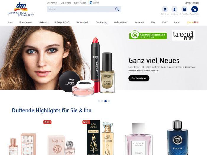DM.de Online Shop