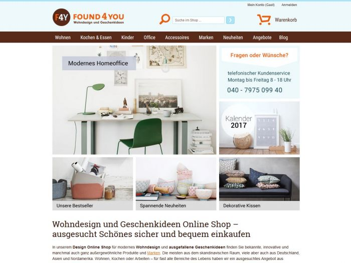 Found4you.de Onlineshop