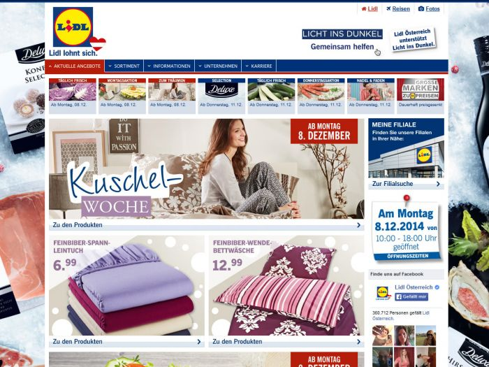 Lidl.at Onlineshop