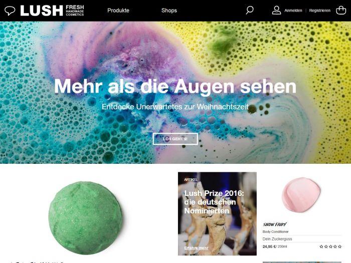 LUSH.com Online Shop