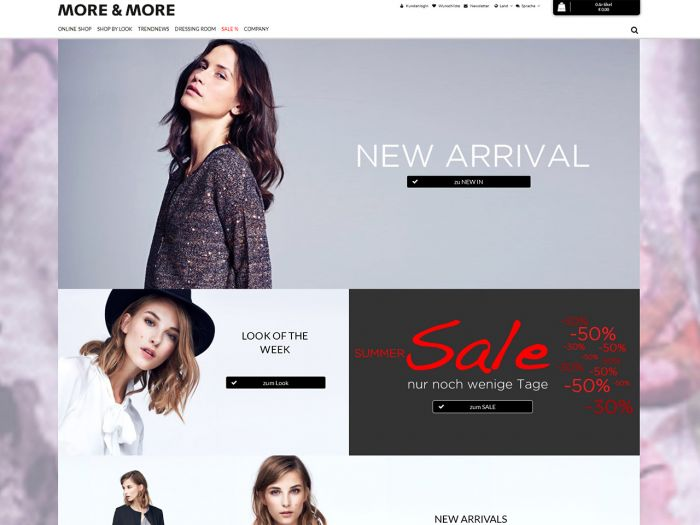 More-and-More.de Onlineshop