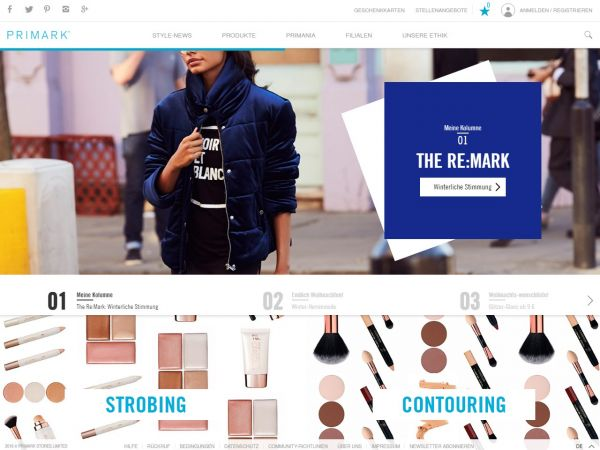 Neu Primarkcom Online Shop