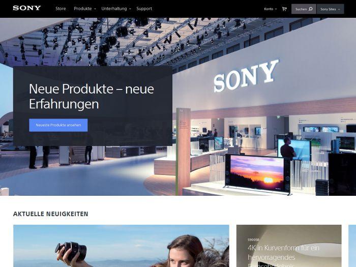 Sony.de Onlineshop