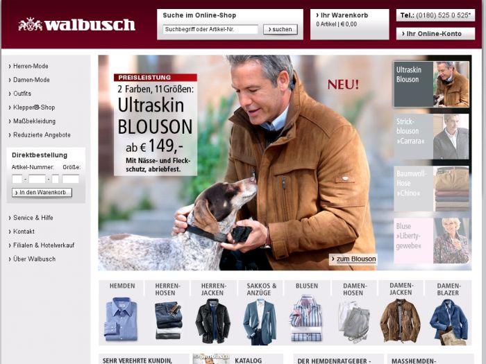 Walbusch.de Onlineshop
