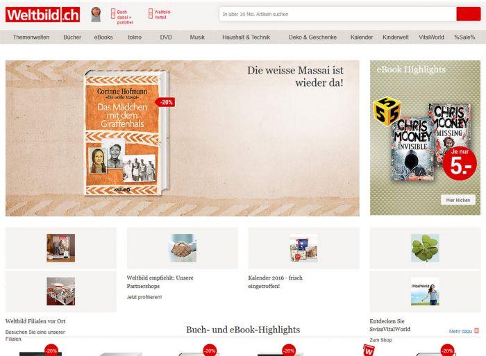 Weltbild.ch Onlineshop