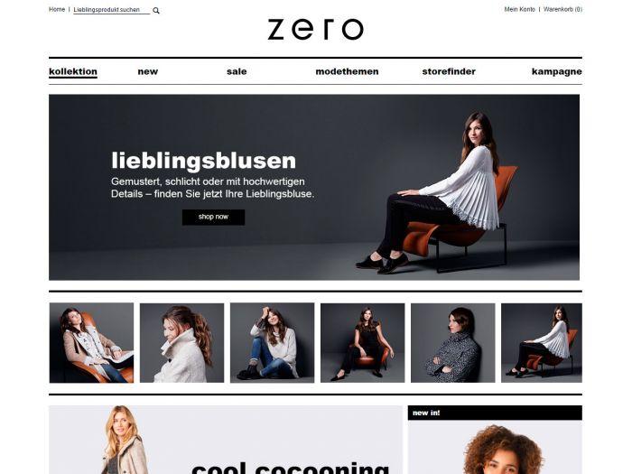 Zero.de Online Shop